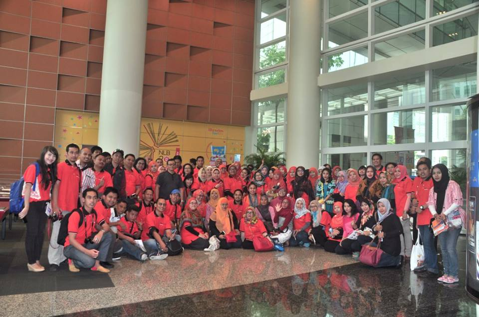 Kunjungan ke National Library Board, Singapore - 22 Oktober 2015