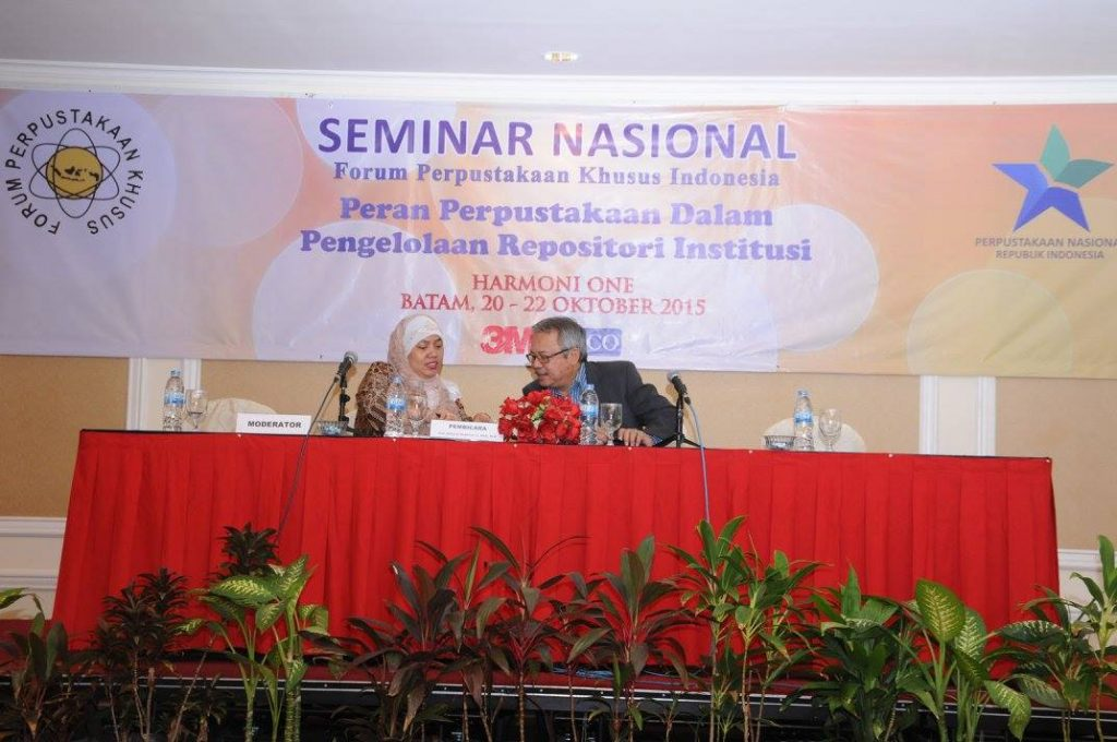 Seminar Konsep Pengembangan Knowledge Management - 20 Oktober 2015